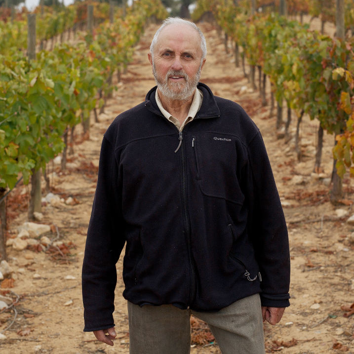 Carlos Gosálbez, viticultor ecológico,