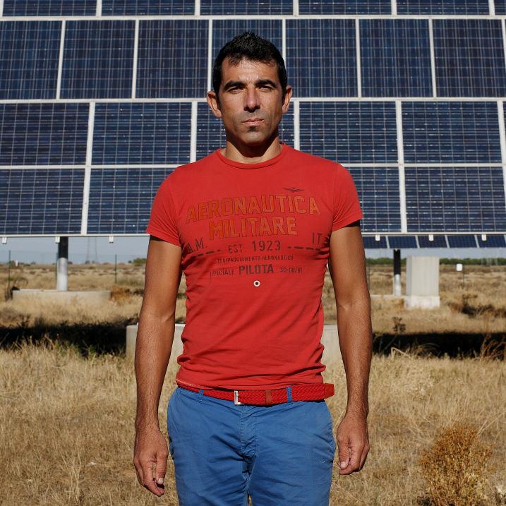 Jorge Puebla, productor fotovoltaico,